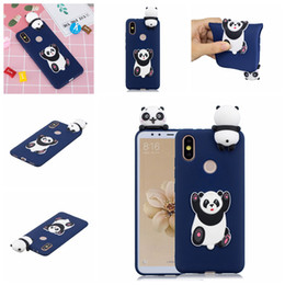 $enCountryForm.capitalKeyWord Australia - Case For Xiaomi Redmi S2 Pasted 3D Funny Panda Dog Cat Pineapple Sticking a Little Silicon Doll 61 Models Option