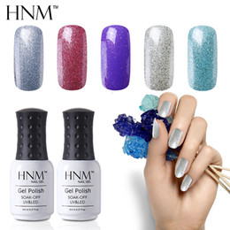 Discount yellow turquoise stone HNM Nail Polish 8ml Nail Polish Classic Nagellak Lucky Lacquer Semi Permanent Gelpolish 194 Colors Hybrid Varnish Enamel