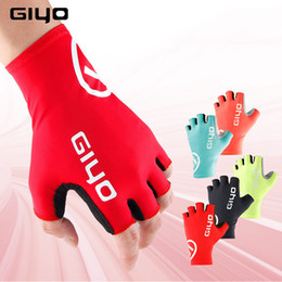 $enCountryForm.capitalKeyWord Australia - Giyo Cycling Gloves Male Female Bicycle Glove Red Black Blue Pink Yellow S XXL luvas bicicleta gants velo mtb road Bike