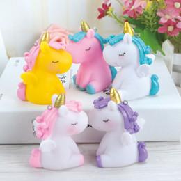 $enCountryForm.capitalKeyWord Australia - 3 Pack Unicorn Doll Toys for Little Girls Gift Cake Cartoon Children's Birthday Cake Decoration Party Supplies Dessert Plush Onesie Bottle