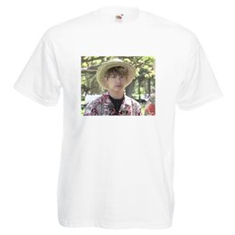 Print Photos T Shirts Australia - Jungkook Funny Hawaii Meme Photo BTS Printed T-Shirt Adult and Children Sizes