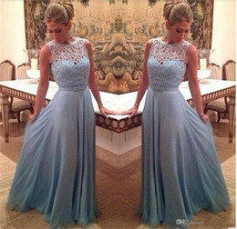 d505d5e8524 Elegant A-Line Chiffon Evening Dress 2019 New Arrival Sleeveless With  Appliques Evening Prom Gowns Mother of the Bride Dresses Plus Size