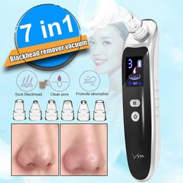 Dots machine online shopping - Face Nose Acne Black Dot Pimple Blackhead Remover Electric Blackhead Vacuum Cleaner Pore Skin Care Tools Machine with Head