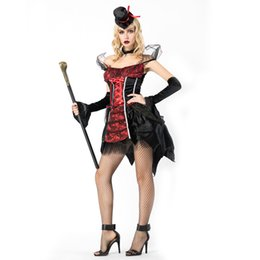 99eafa5d6 Halloween Noble Queen Vampire Costume Sexy Gothic Adult Women Scary Vampire  Halloween Party Costume
