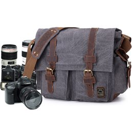 $enCountryForm.capitalKeyWord Australia - etro Canvas Crossbody Shoulder Bags Sling DSLR SLR Photo Video Soft Casual Bag Pack Case Travel Camera Protective Cases Retro Canvas Cros...