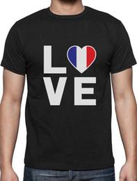 $enCountryForm.capitalKeyWord NZ - I Love France - French Patriot Gift Idea - France Flag T-Shirt Novelty Idea cotton casual printing short sleeve knitted comfortable fabric