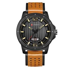 Male Wrist Watches Australia - 2019 Quartz Wrist geneva Watch Calendar Man Waterproof Business Affairs European Belt Male Surface automatic casual watches master montre