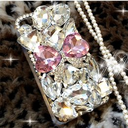 $enCountryForm.capitalKeyWord UK - wholesale For Samsung galaxy S10 PLUS Bling Pink bow hinestones cover case for samsung galaxy S7 S7 Edge S8 S8 Plus s10 s10e A7