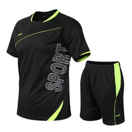 Tshirt Suit NZ - Large Mens Short Sleeve Tshirt Mens New Summer Sportswear Fastdrying and Airbreathing Fitness Suit