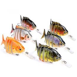 $enCountryForm.capitalKeyWord Australia - 6 Segments Pesca Hard Fishing Lures Lifelike Swimbait Baits Aritificial Wobblers Crank Painting Series Minnow Lure 10cm 14g