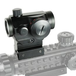 $enCountryForm.capitalKeyWord Australia - Tactical Hunting Red Green Dot Reflex Sight Scopes With High Low Dual Profile Rail Mount Airsoft Air Guns Rifle Red Dot Scopes.