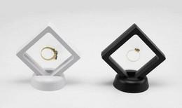 $enCountryForm.capitalKeyWord UK - Transparent film suspension jewelry box Literary Play Jewelry Jade Receiving Box Display frame packing props