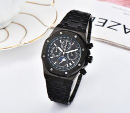 Special Man Watch Australia - Top Selling Luxury Watch Special Men 2019 Black Dial top Band Gold Stainless Steel Automatic quartz 15710ST Men Mens Watch Watches