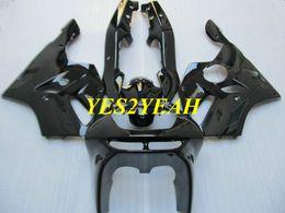 $enCountryForm.capitalKeyWord UK - Fairing body kit for KAWASAKI Ninja ZX6R 636 94 95 96 97 ZX 6R 1994 1997 All gloss black Fairings bodywork+Gifts KS09