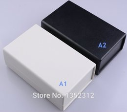 projects electronics UK - Free shipping One pcs 164*100*51mm PLC instrument box abs enclosure plastic box for electronic project box desk top enclosure