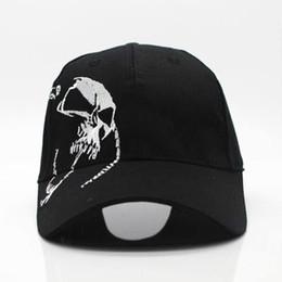 $enCountryForm.capitalKeyWord Australia - Fashion High Quality Unisex 100 %Cotton Outdoor Baseball Cap Skull Embroidery Snapback Fashion Sports Hats For Men &Women Cap