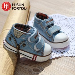$enCountryForm.capitalKeyWord Australia - New Style Children Canvas Shoes Girls And Boys Fashion Flats Shoes Breathable Kids Sneakers Child Casual Baby Shoes Size 19-24 Y19061906