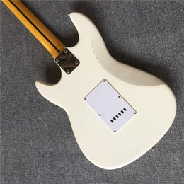 Chinese  HOT wholesale white ST Electric Guitar F series electric guitar real photos ,FREE SHIPPING 7-17 manufacturers