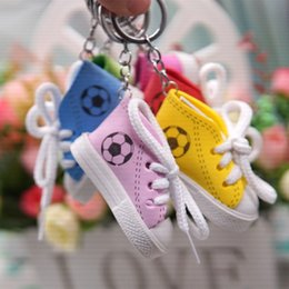 Cheap Boys Canvas Shoes Australia - Creative Gift Canvas Shoe Frame Key ring Car Key ring Frame Small Gift Wholesale Cheap Key ring Free Freight