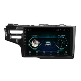 hd radio tuner for car UK - Android car GPS with Resolution HD 1024 * 600 multi-touch screen front camera for Honda jazz fit 2014 10.1inch