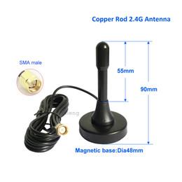 AntennA module online shopping - 2 G Wireless Wiif Sucker Antenna Indoor Signal Enhancement Routing Network Card Module External Antenna Gain dB