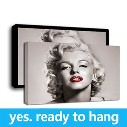 $enCountryForm.capitalKeyWord NZ - Framed Wall Art HD Canvas Print Modern Painting Marilyn Monroe Art Print on Canvas Home Decor - Ready To Hang - Framed