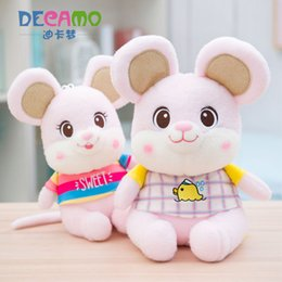 $enCountryForm.capitalKeyWord UK - Dressing Little Mouse Stuffed Animal Plush Toys Pillow Car Decoration Cute Valentine's Day Gifts Hot Toys New Arrvial Free Shipping