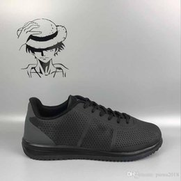 on sale 8a31b 43e4a wholesale 2018 Classic shoes 5.0 Cortez Basic Leather Casual Shoes Zoom Fly  S Men Women Black White Red Golden Sneakers Size 36-45
