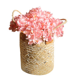 "$enCountryForm.capitalKeyWord UK - Artificial Hydrangea Flower with Stem Mini Fake Silk Flower Ball Home Decor Party Ornament Wedding Centerpieces Photography Props 10"" 10PCS"