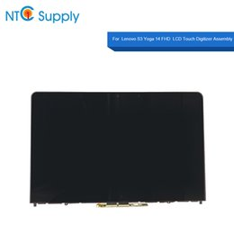 lenovo p NZ - Laptop Lcd Display Yoga 14 FHD Full LCD Touchscreen Assembly NV140FHM-N41 P N SD10H35988 FRU 00PA891 Screen With Bezel
