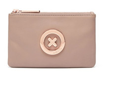 China MIMCO MIM SMALL POUCH 17.5cm*11cm super natural balsa leather rose gold logo suppliers