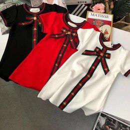 crianças estilista 2020 vestido novo de moda de luxo livre transporte 041279 em Promoção