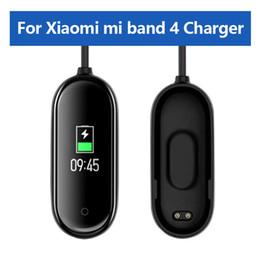 Großhandel USB Ladegeräte für Xiaomi Mi Band 4 Ladegerät Smart Band Armband Armband Ladekabel für Xiaomi MiBand 4 Ladegerät Linie Uhr Zubehör