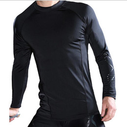 Wholesale 2019 New 2XU Men Compression Long sleeve top Tights Elastic Yoga Pants Fitness Gym Sports running X printed casual fitness stretch pants