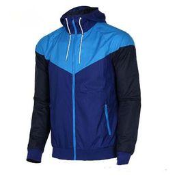 Slim Black Men Models NZ - Free shipping Men Spring Autumn Windrunner jacket Thin Jacket Coat,Men sports windbreaker jacket explosion Black models couple clothin Men's