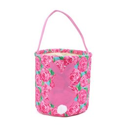 $enCountryForm.capitalKeyWord UK - New Arrival Super Cute Lily Easter Bucket Good Quality Easter Bunny Basket Tote Bags Kids Ester Gift Bucket Candy Tote Bags