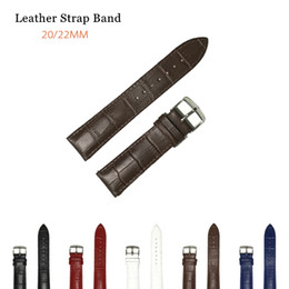 $enCountryForm.capitalKeyWord NZ - Watch Bands Strap For Samsung 20mm WatchBand Leather Men Women For huawei 2 classic huawei watch GT 22mm Strap Belt