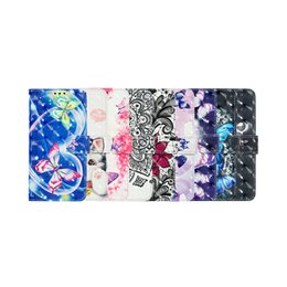 $enCountryForm.capitalKeyWord Australia - 2019 new 3D painted pattern TPU shell inserted credit card holder waterproof mobile phone case for MOTO P40 PLAY MOTO P40
