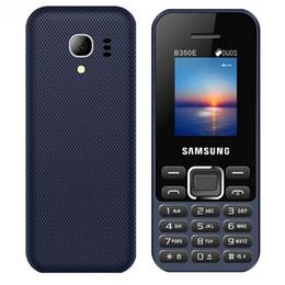Cheap Camera Gsm Australia - Cheap Mobile phone B350E 1.77inch cellphone 32G ROM Dual sim card Classic GSM 2.0 bluetooth keyboard button phone