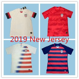 ea2342c08 2019 2020 USA PULISIC Soccer Jersey 19 20 DEMPSEY BRADLEY ALTIDORE WOOD  America Football jerseys United States Shirt Camisetas Thai quality