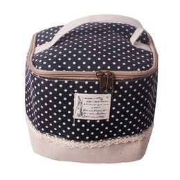 beige hand bag Australia - Cotton And Linen Multifunctional Travel Portable Toiletry Storage Bag Makeup Bag Hand-held Durable