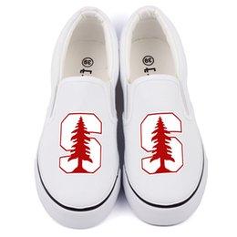 $enCountryForm.capitalKeyWord Australia - Hot Sale-Hot America College Students Canvas Shoes Slip On Custom Print Black Casual Loafers Womens Flat Walking Shoes Zapatos Drop Ship X