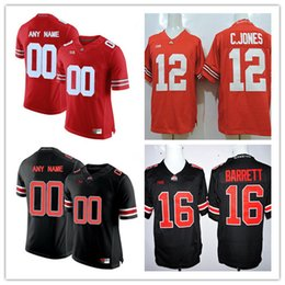 Cheap Mens Ohio State Buckeyes College Football 18 Jonathon Cooper Tate  Martell 24 Shaun Wade White Black Red Stitched Personalized Jerseys 3d64dacea