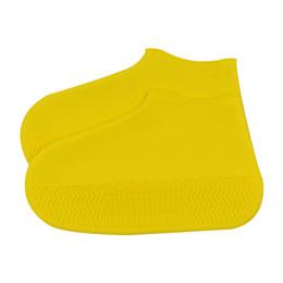 $enCountryForm.capitalKeyWord Australia - 1 Pair Silicone Non Slip Travel Elastic Shoe Cover Thick Sole Outdoor Wear Resistant Waterproof Accessories Reusable Protector