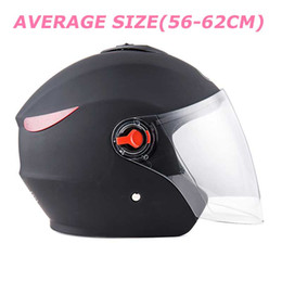 hot motorcycle helmets Australia - Hot sales PP plastic shell helmet Unisex motorcycle helmet for all seasons, average size Anti-fog lens,free shipping