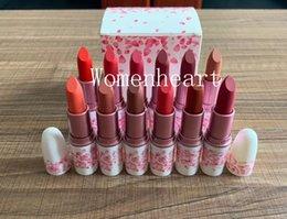 $enCountryForm.capitalKeyWord Australia - Factory Direct HOT M perfect Makeup Luster Lipstick Matte Lipstick 3g 12 colors Lipstick with English name