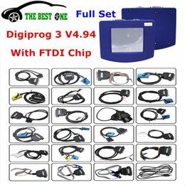 Con FTDI Digiprog 3 V4.94 III Programmatore contachilometri Digiprog3 Strumento Correzione chilometraggio Digi Pro OBD2 Set completo DHL Libero in Offerta