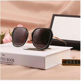 Discount stylish branded sunglasses Brand Sunglasses Design Sunglasses Stylish Sunglasse for Women Glasses UV400 with six Style Optional New Arrive 1011