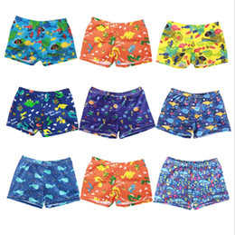 571d76edc9305 Swimming Trunks Kids Beach Swimwear Shorts Printed Baby Boys Swim Pants  Summer Swim Wear Children Beach Clothes 8 Designs DHW2742