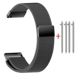 e4d8398a2b0 Magnetic Closure Australia - Milanese Strap for Samsung Gear S3 Stainless  Steel Strap Bracelet with Magnetic